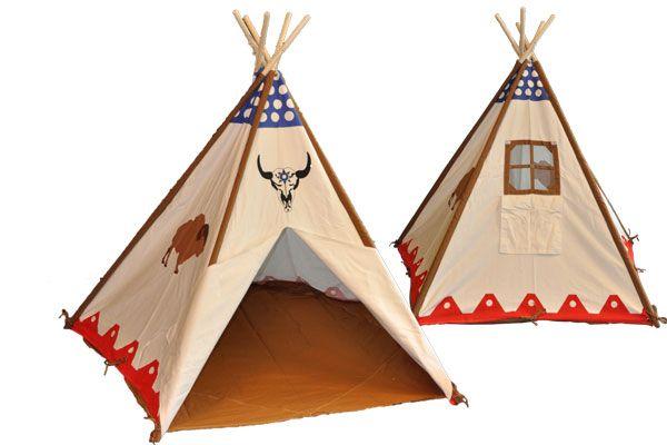 Tipi Tent Kinderkamer : Bandits & angels tipi tent bandits buffalo speeltentxl.be
