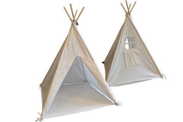 Tipi Tent Kinderkamer : Bandits & angels tipi tent bandits indian naturel speeltentxl.be