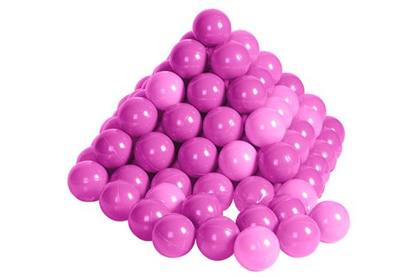 100 roze ballen in net